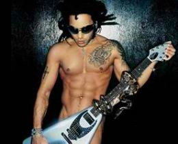 Lenny Kravitz Sexy Black Male Celebrity