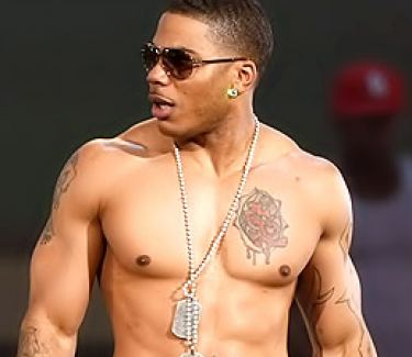 Nelly Showing his Hot Bod At A Concert